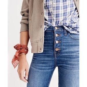 "Madewell | 10"" High-Rise Skinny Jeans"